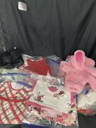 Build A Bear Lot Of Clothes And Accessories 20+ Pieces Dress Skirts Robe More