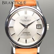 Rare Chronometer Mechanical 12-sided Dial Omega Constellation Automatic Winding