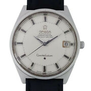 Omega Constellation 12-sided 168.025 Quick Change Antique Mens Wristwatch