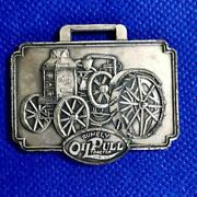 Advance - Rumely Thresher Co Inc Oil Pull Tractor Watch Fob La Porte Indiana
