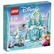New Lego Disney Frozen 41148 Elsaand039s Magical Ice Palace 701 Pieces Discontinued