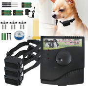 Electric Dog Pet Fence Training System Waterproof Shock Collars For 1/2/3 Dogs