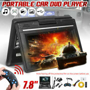 7.8 Portable Dvd Player Swivel Screen Rechargeable Battery For Kid And Car G5m3