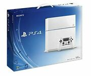 Playstation4 Glacier White 500gb Cuh1100ab02 Manufacturer Discontinued Used