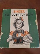 Vintage Singer Sewhandy Model 20 Childand039s Sewing Machine And Original Box