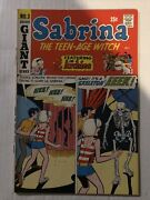 Sabrina The Teen-age Witch 1971 3 First Solo Series Archie Giant Vf+ Key