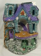 Vintage Store Display Halloween Haunted House Lemax Style Village Rare 80and039s 90and039s