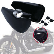 Left/right Battery Side Covers Clip Fit For Harley Sportster Xl883 Xl1200 14-21