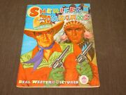 Vintage Children 1962 Sheriffs And Indians Real Western Pictures Coloring Book