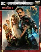 Iron Man 34k And Blu-ray, And Digital Steelbook Best Buy Limited Edition New
