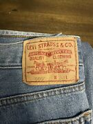 Levi's 560 Loose Comfort Fit Jeans Men's Size 34x32 Red Tab