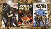 Star Wars 2015 Marvel Graphic Novels Paperback Lot Vol 1 , 4 And Han Solo Used
