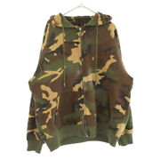 Chrome Hearts Cross Patched Camouflage Fla Pattern Zip-up Hoodie Ghana
