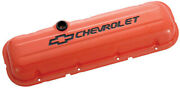 Proform Bbc Valve Covers Stamped Chevrolet And Bowtie 141-789