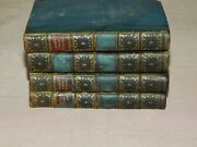 4 Antique Books By Sir W E Parry Capt Rn Frs Three Voyages Vol I Ii Iii Iv