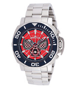 Marvel Spiderman Mens 48mm Limited Edition Chronograph Watch 35096