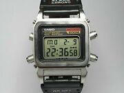 Vintage Extremely Rare Divers Casio 548 Dw-1100 Digital Watch 200m
