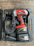 Skil Xdrive 18v Cordless Drill With Case Handle Charger
