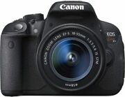 Secondhand Canon Eos X7i Lens Black Camera Popularity Recommendation