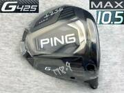Ct256 Tour Supplies Wrx Proto 2021 Ping G425 Max 10.5 Real 10.75 With Spec Sheet