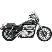 Harley Bassani - Exhaust System Radial Sweeper Chrome Xl Sportster 86-03 883