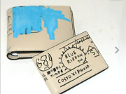 Coach X Jean-michel Basquiat Menand039s 3-in-1 Wallet Leather Ivory Multi C5444 New