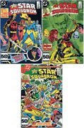 All-star Squadron 48 49 50 Dc 1985 Near Mint- First Prints White Pages