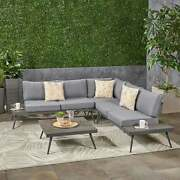 Norfolk Outdoor V-shaped 5 Seater Sofa Set By Christopher