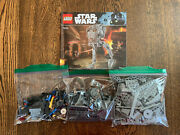 Lego Star Wars At-st Walker 75153 Used Incomplete No Box