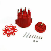 Msd Cap And Rotor Male Hei Stainless Terminals Clamp Billet Pro Billet 84335