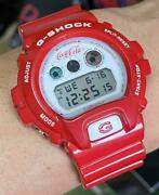 G-shock/limiteded/dw-6900/watch/ape/coca-cola/collaboration/bespoke/red
