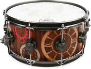 Dw Time Keeper Snare Drum - 6.5 X 14 - Antique Bronze Hardware