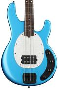 Ernie Ball Music Man Stingray Special Bass Guitar - Speed Blue With Rosewood