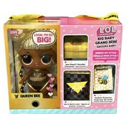Lol Surprise Big Baby Queen Bee Doll Look Iand039m So Big With Accessories