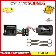 Steering Stalk Control Iso Adaptor Wiring Lead And Pins For Ford Fiesta 2006-2008