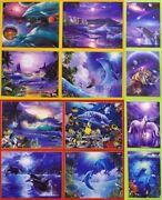 Jigsaw Puzzle Multipack 12 Assorted Seascapes Fish Dolphins New