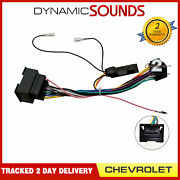 Cthue-cv1 Car Stereo Wiring Iso Adaptor With Ignition Generator For Chevrolet