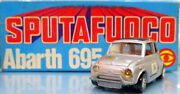Mebe Toys Die-cast Made In Italy Abarth 695 Ss/silver Se105