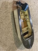 1950's Toy Evinrude Outboard Motor And Boat