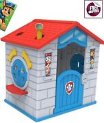 Nick Jr. Paw Patrol Cottage Playhouse Castle Patio Play House Kids Gift Boy New