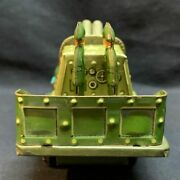 Friction Tin Made In Japan Military Trucks With Double Gun 170mm