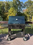 Assassin 36 Inch Charcoal Grill And Smoker