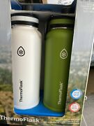 Thermoflask Double Wall Vacuum Insulated Stainless Steel Water Bottle 2-pack ...