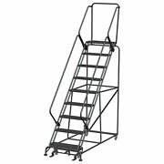 Ballymore Rolling Ladder Overall Height 123 In Steps 9 Cap 450 Lb