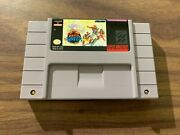 The Pirates Of Dark Water Super Nintendo Snes - Authentic Game Cart - Tested