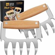 Bear Meat Claws - Bbq Grill Claws Tool Metal Cooking Smoker Accessories Barbecue