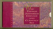 1993 Jefferson 250th Anniversary Coin And Currency Set Set Ms 2 Coins 1 Note Ogp