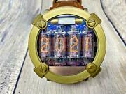 Nixie Tube Menand039s Watches In-16 Tubes Men Craftsman Handmade