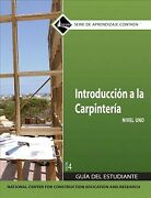 Carpentry Fundamentals Level 1 Trainee Guide In Spanish, Paperback By Nccer ...