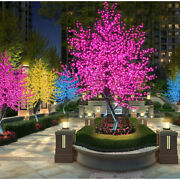 9ft Led Christmas Cherry Tree Party String Xmas Fairy Outdoor Garden Decoration